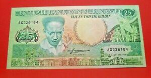 25 gulden 1988 - FDC - Billet collection Suriname - N19010