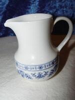 Milchkännchen  Blau / Weiss Kahla