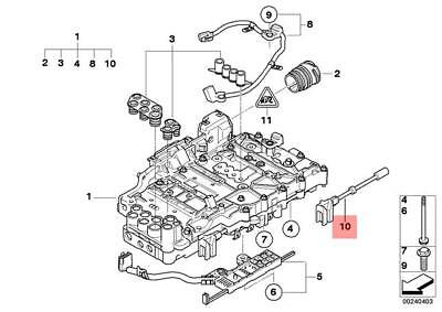 Genuine BMW E36 Compact Automatic Transmission Selector Cable OEM 25161423114