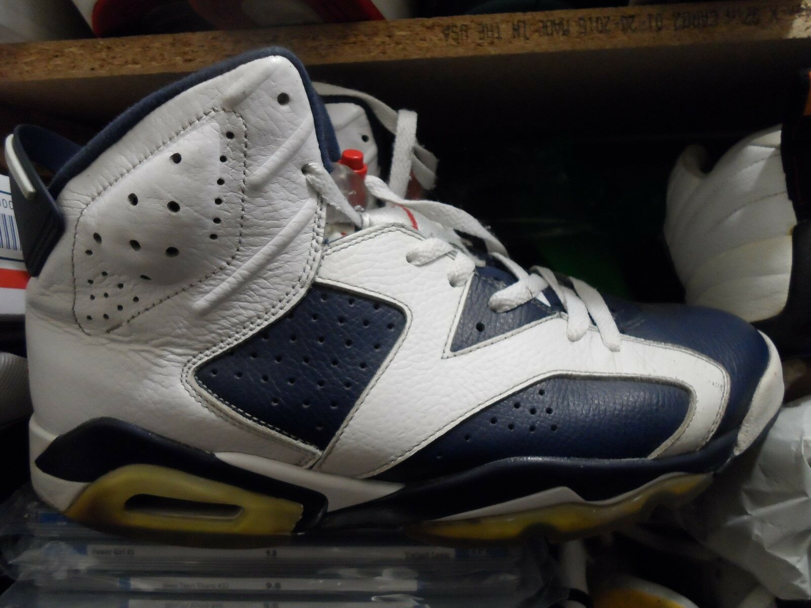 2012 Nike Air Jordan VI 6 Retro OLYMPIC 12
