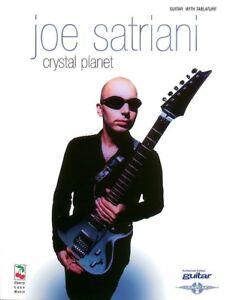 JAM WITH JOE SATRIANI GUITAR TAB SHEET MUSIC BOOK//CD