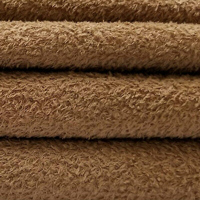 Dense Curly Matted German Viscose Fabric 1//4 yd VIS1//SCM Stone INTERCAL 6mm Med