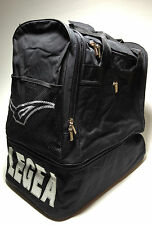 Legea hohe Sporttasche Vento Senior Sassari Reisetasche Handgepäck Black neu