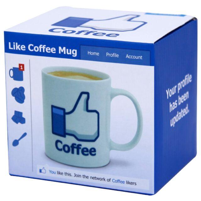 Facebook Inspired Like Mugs Coffee Or Tea Mug Brand New In Box