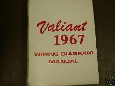 1967 Plymouth Valiant Wiring Diagram Manual | eBay