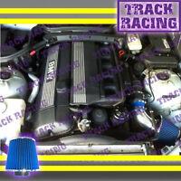 95 96 97-99 Bmw M3 Coupe Sedan Convertible E36 3.0l 3.2l Air Intake Kit Blue