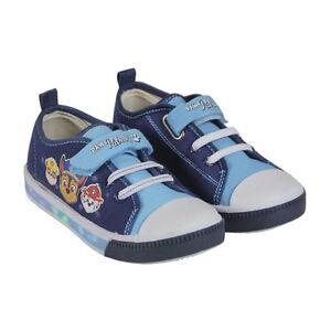 Baskets-Pat-Patrouille-LED-Lumineux-Chaussures-enfant-Paw-Patrol-baskets-led