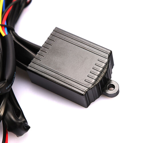 DRL LED Daytime Running Light Relay Harnes Automatic On Off Control Switch 12~PL