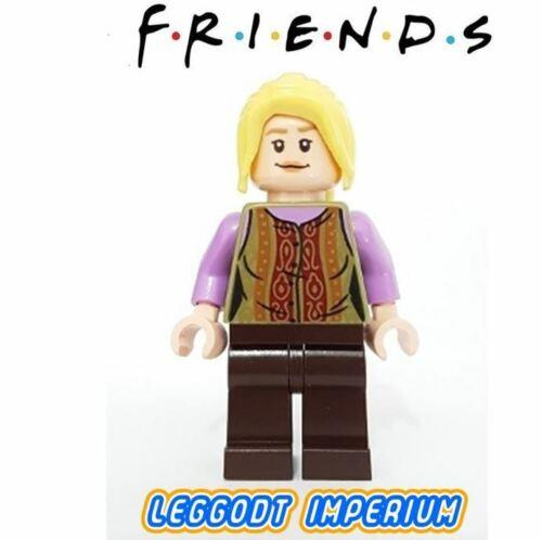idea061 FREE POST LEGO Minifigure Friends TV Central Perk Phoebe Buffay