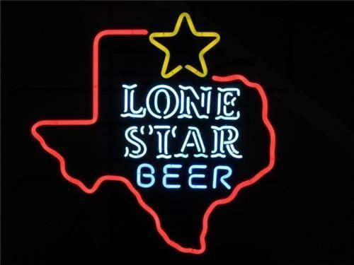"""New Texas Lone Star Beer Neon Light Sign 24/""""x20/"""""""