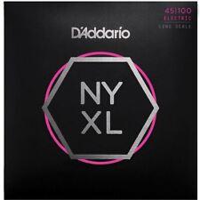 D'Addario NYXL45100 Long Scale Regular Light Bass Guitar Strings