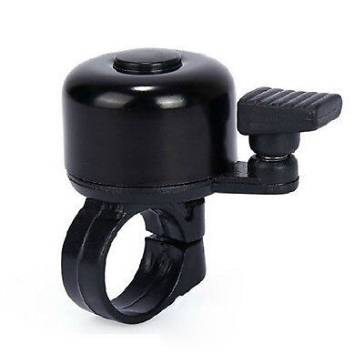 New Metal Ring Handlebar Bell Sound Alarm Horn for Bike Bicycle Cycling Black JP