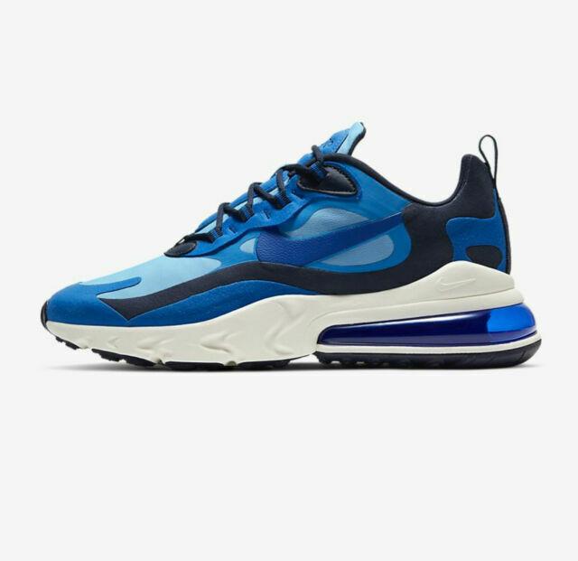Size 8 - Nike Air Max 270 React Light Blue