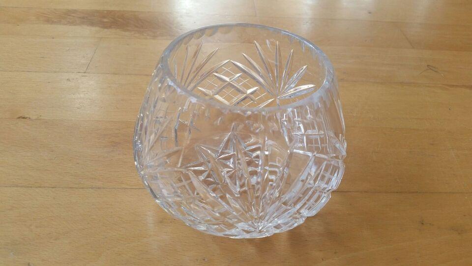 Glas, Bøhmisk krystal skåle