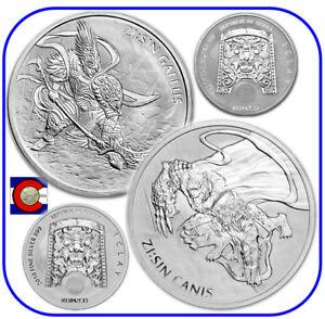 2017 South Korea ZI:SIN Gallus 1 oz 0.999 Silver Medal//Coin in plastic capsule