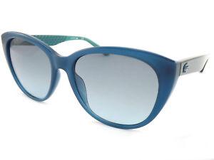 Lacoste Women's 466 Sunglasses Gradient Petrol Blue L832s vmO8PNny0w