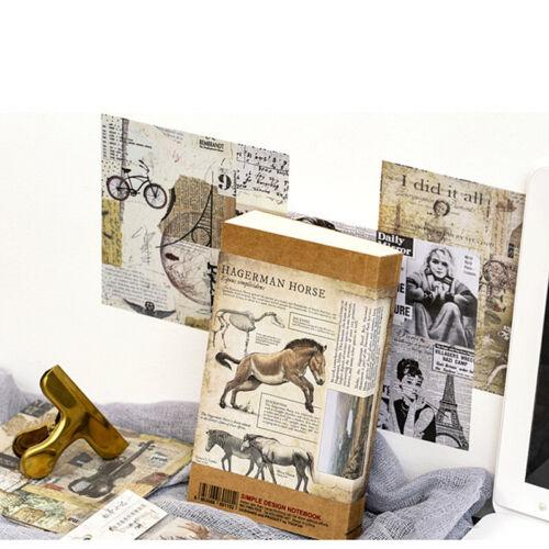 Etiqueta engomada de papel vitela de Flores 15Pcs Vintage Auto-Adhesivo Scrapbooking hágalo usted mismo Craft