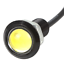 2x-23mm-Parking-Light-Eagle-Eye-LED-Car-Lights-DRL-Daytime-Running-Light-12V-9W thumbnail 4