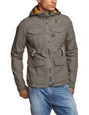 G-Star Raw Mens Recolite HDD 83156E Slim Harrington Jacket Grey Small RRP £150