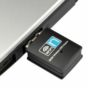 USB WiFi Wireless Adapter Mini Network Dongle 300Mbps Windows MAC Linux 802.11n