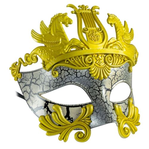 ROMAN GladiatorFILIGREE Venetian MENS MASQUERADE MaskFancy Dress PROM BALL