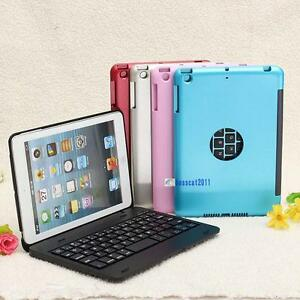 Foldable-Wireless-Bluetooth-Rechargeable-Keyboard-Case-Cover-For-iPad-Mini-3-BO