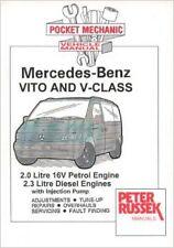 MERCEDES BENZ VITO AND V-CLASS 2.0 16V PETROL 2.3 DIESEL 108 110 601 CAR MANUAL
