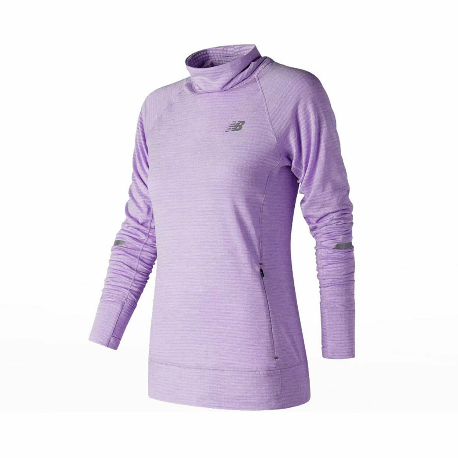New Balance Womens Heat Pull Over Long Sleeve Training Top