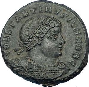 CONSTANTINE-II-Jr-Genuine-330AD-Authentic-Ancient-Roman-Coin-SOLDIERS-i65856
