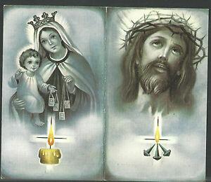 image pieuse ancianne de Jesus santino holy card estampa Bk4X8V8H-09164656-324976417