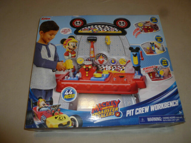 Surprising Disney Jr Mickey Mouse And The Roadster Racers Pit Crew Workbench 40 Play Tools Evergreenethics Interior Chair Design Evergreenethicsorg
