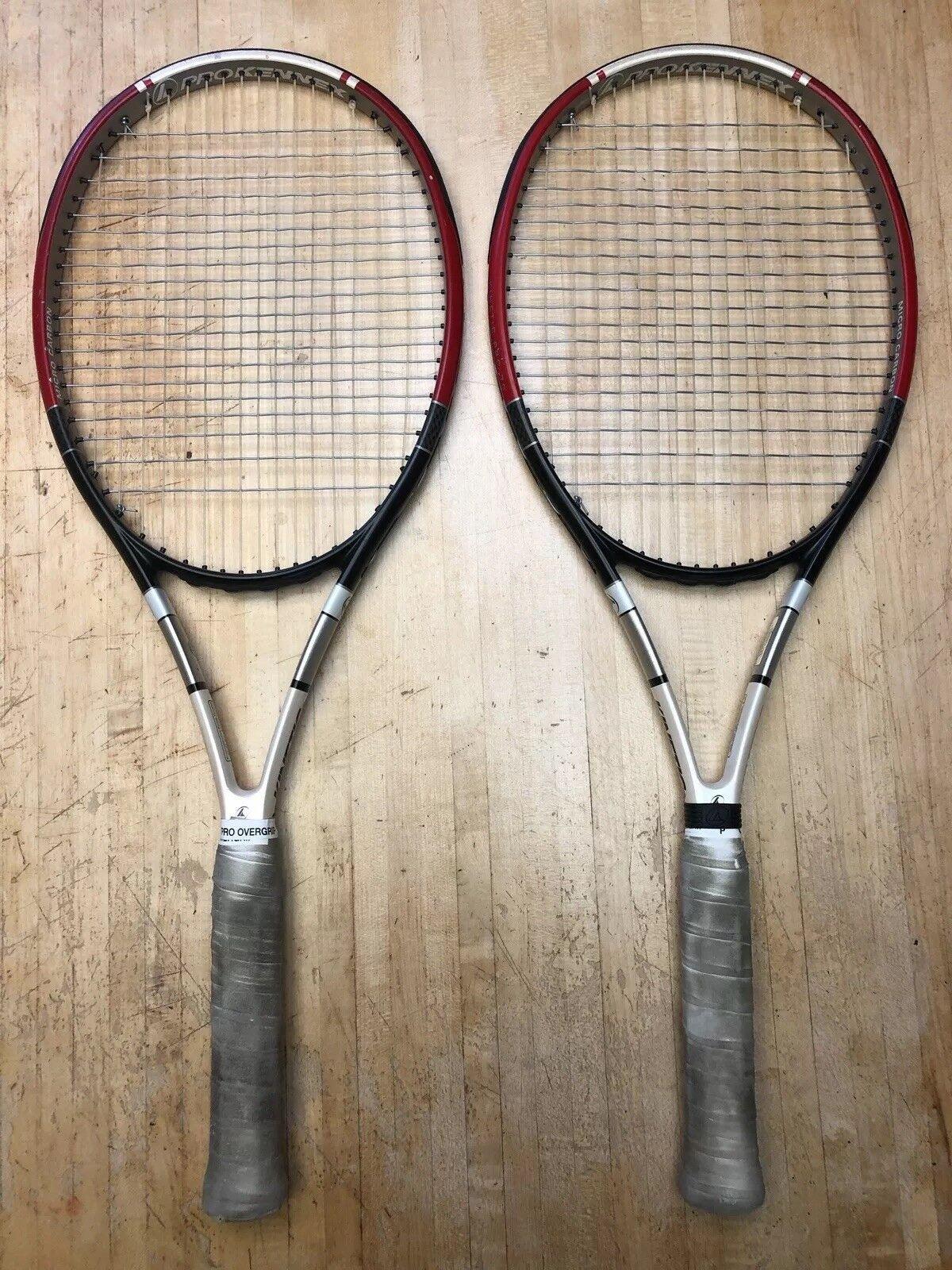 Dos Raquetas De Tenis Pro Kennex Kinetic 7G 7G 7G 4 5 8 edad94
