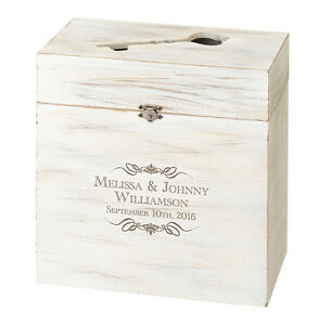 Image Is Loading WOODEN KEY BOX ALTERNATIVE WEDDING GUEST BOOK OR