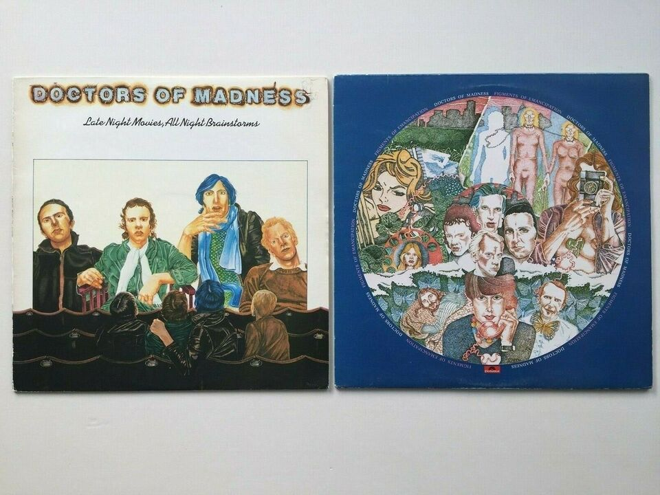 LP, Doctors Of Madness, Rock