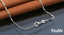 Collar-Colgante-Joya-Mujer-Estrella-Brillante-Plata-Moda-Regalo-ideal-Novia miniatura 4