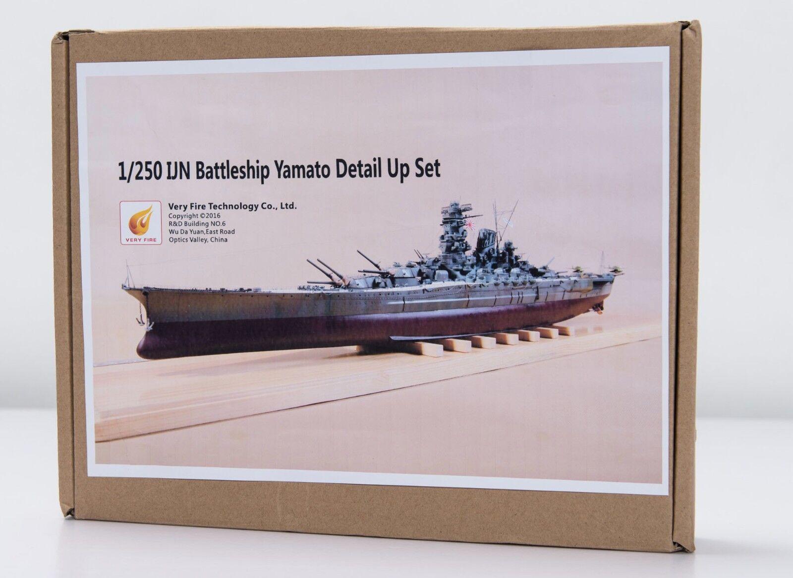 ARII 1 250 Yamato Upgrade Set Detail Detail Detail Set eb6ccf