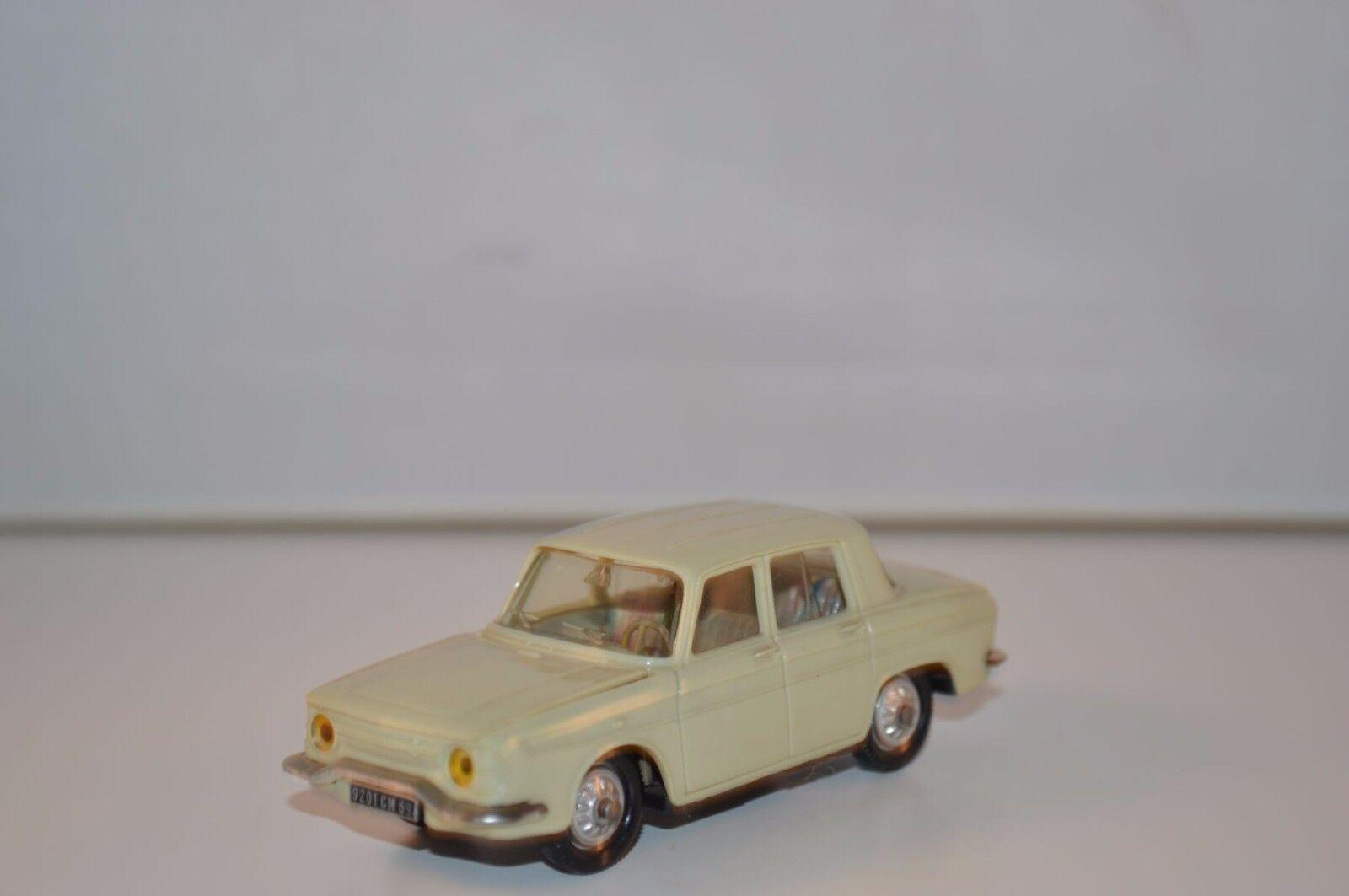 Norev 9 Renault R10 R 10 grey plastique perfect mint