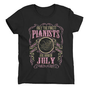 Womens PIANO T-Shirt Finest PIANISTS