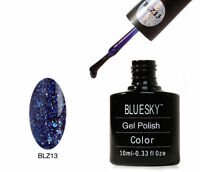 Bluesky Midnight Blue Blz 13 UV LED Gel Soak Off Nail Polish 10ml