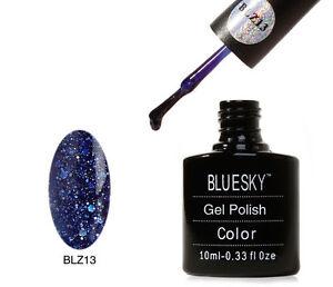 Bluesky-Midnight-Blue-Blz-13-UV-LED-Gel-Soak-Off-Nail-Polish-10ml