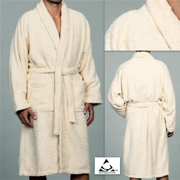 MARRIKAS Unisex LARGE Egyptian Cotton Quality CREAM