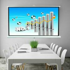 84 Ratio 169 Projection Projector Screen Manual Pull Up Stand Tripod