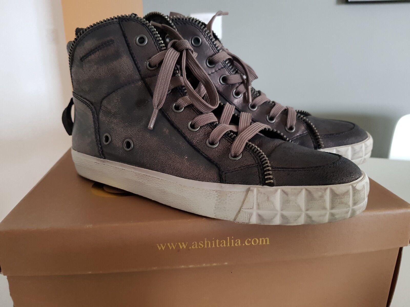 Nueva con caja ceniza Alta Zapatillas Zapatillas Zapatillas Talla 39 mujeres  descuento de ventas en línea