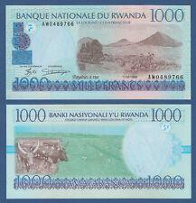 RUANDA / RWANDA 1000 Francs 1998  UNC P.27