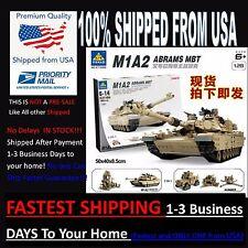 Full Custom Lego Compatible M1A2 Abrams MBT Tank & Hummer KAZI 1463 Pcs (W/ BOX)