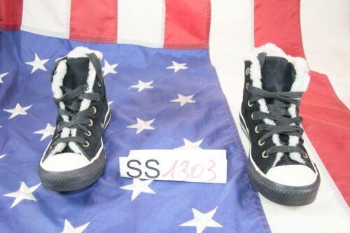 Hautes Chaussures Noir Converse All Star Cod En D'occassion ss1303 Daim fT1nRTq