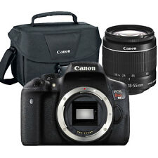 Canon EOS Rebel T6 18MP DSLR Camera with EF-S 18-55mm Lens + Original Canon Case