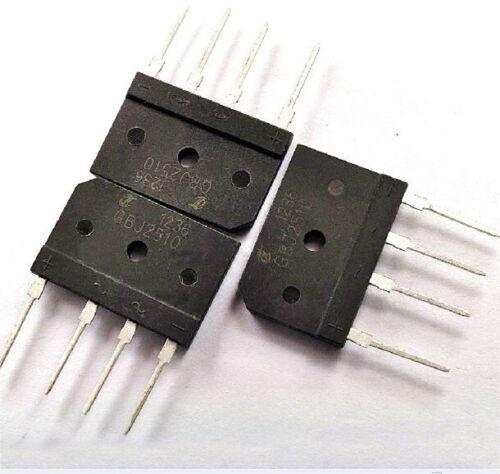 5 pcs New GBJ2510 2510 25A 1000V 25AMP Bridge Rectifier