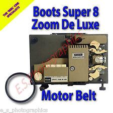 Stivali Zoom automatico SUPER 8mm CINE PROIETTORE Belt (motore principale Cintura)