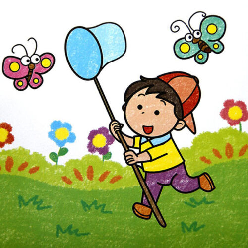 Children Kids Extendable Net Telescopic Sea Fishing Bug Butterfly Catcher oi